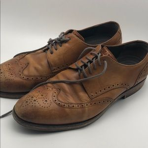 Cole Haan men's wing tip shoes size 10.5
